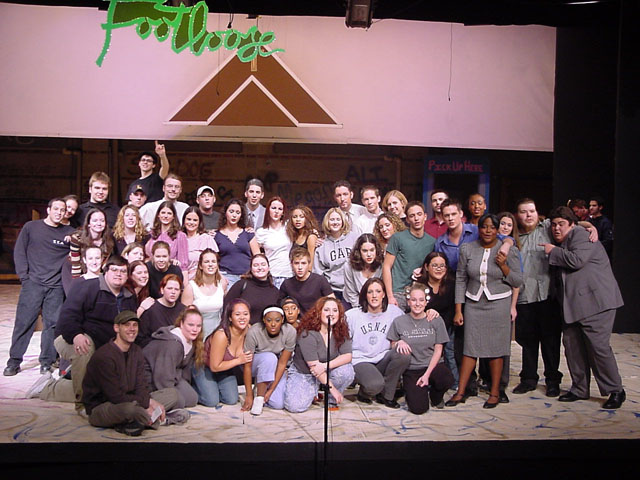 Cast & Crew of Footloose...click for Full Resolution Image